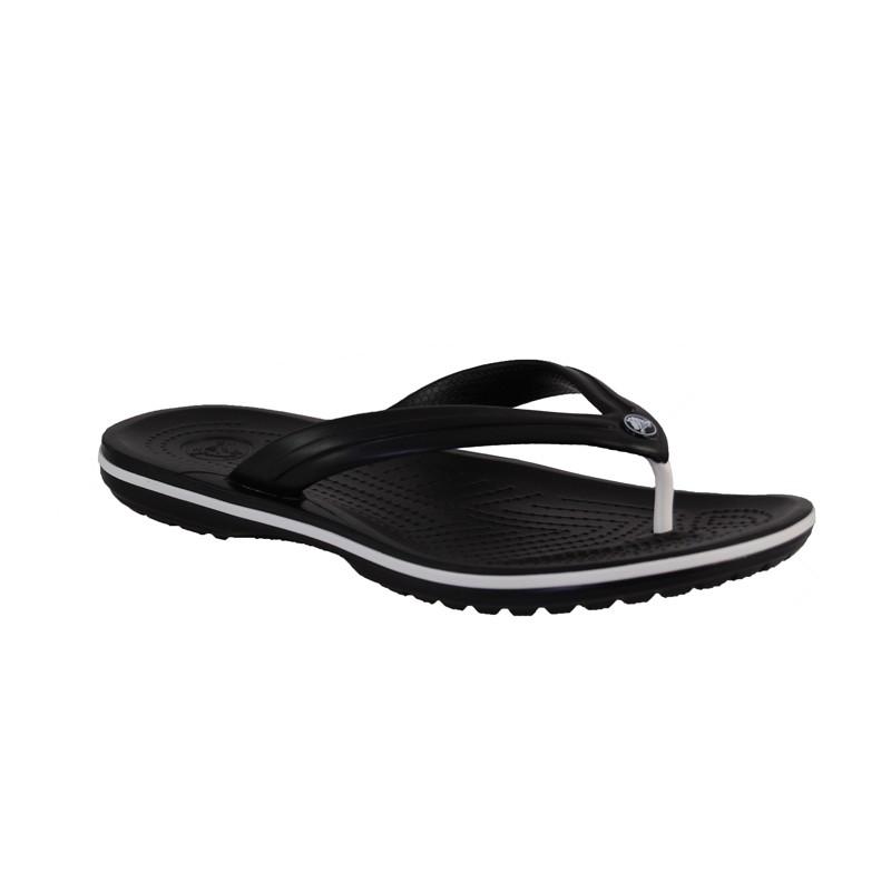 crocs crocband flip zehentrenner damen herren sandale black schuhe ebay. Black Bedroom Furniture Sets. Home Design Ideas