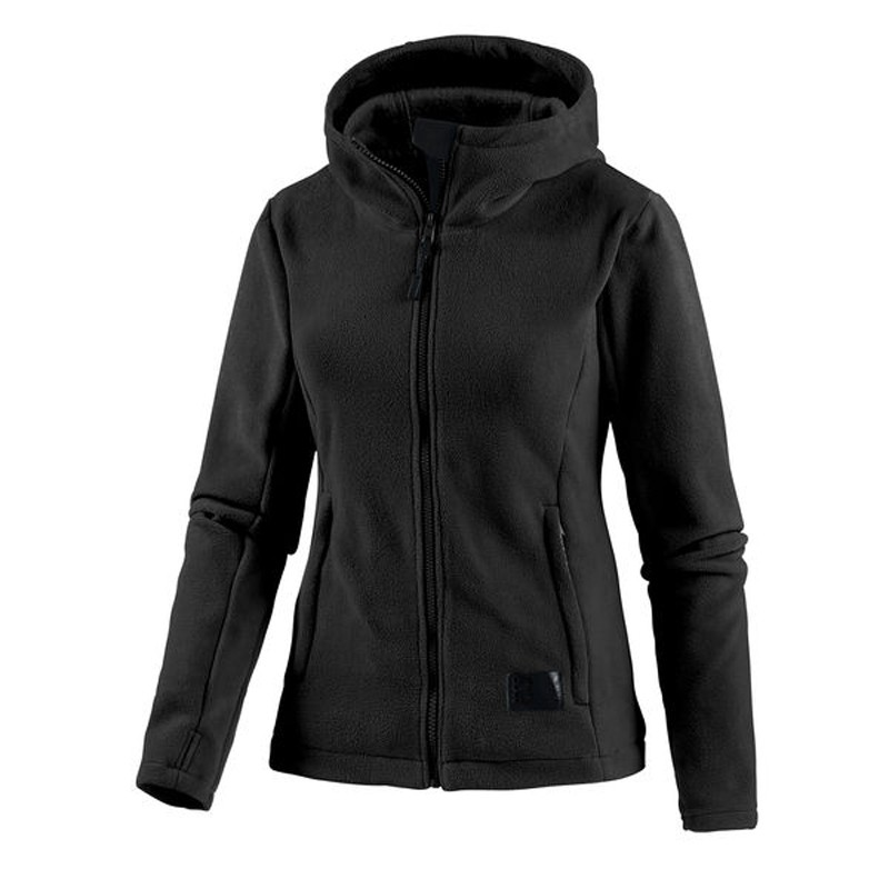 bench damen m dchen jacke sweatjacke funnel neck fleecejacke gr ll schwarz t ebay. Black Bedroom Furniture Sets. Home Design Ideas