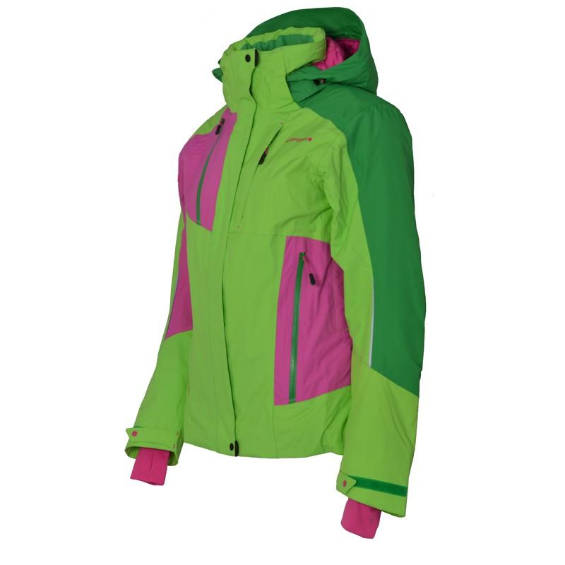 Icepeak Damen Skijacke Winterjacke Jacke Saga Gruen Ebay