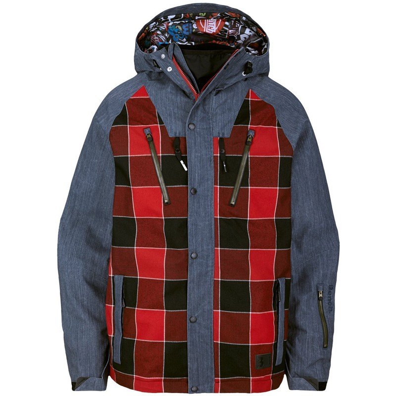 bench herren winterjacke skijacke snowboard jacke davids high risk red ebay. Black Bedroom Furniture Sets. Home Design Ideas
