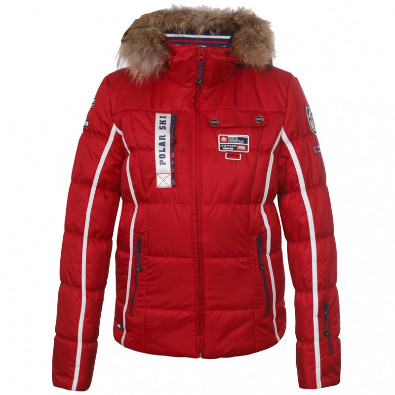 icepeak damen skijacke winterjacke jacke tuwa klassisch rot ebay. Black Bedroom Furniture Sets. Home Design Ideas