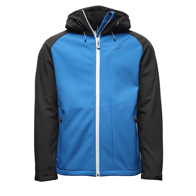 Jack-Jones-Herren-Softshelljacke-Flight-Softshell-Jacke-Skydiver-Blau