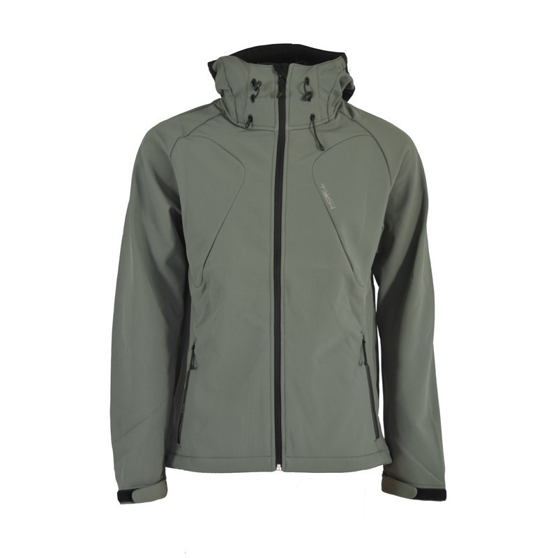 Jack-Jones-Herren-Softshelljacke-Summit-Softshell-Jacke-Gun-Metall