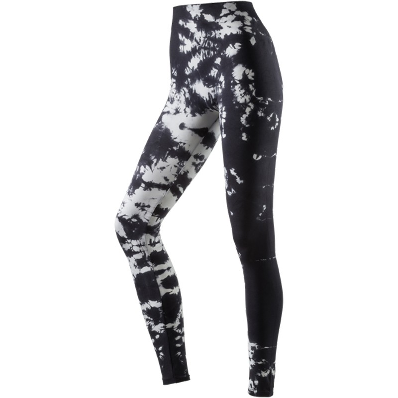 energetics damen fitnesshose sporthose workout alloverprint tight ebay. Black Bedroom Furniture Sets. Home Design Ideas