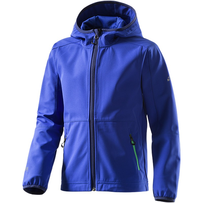 mckinley kinder softshelljacke melmoth blue dark blau jacke softshell jungen ebay. Black Bedroom Furniture Sets. Home Design Ideas