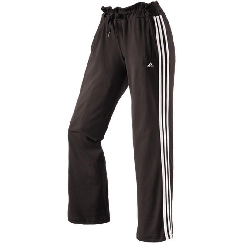 adidas ess 3s kn pant damen fitnesshose sporthose workout. Black Bedroom Furniture Sets. Home Design Ideas