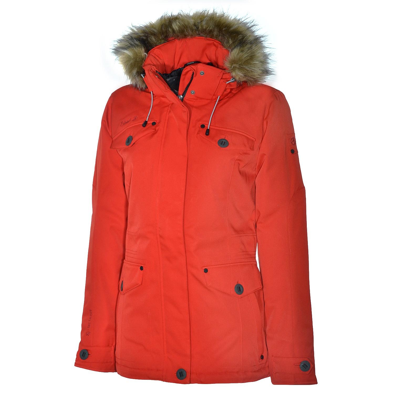 first b gemma padded jacket winterjacke jacke damen winter burnt red rot ebay. Black Bedroom Furniture Sets. Home Design Ideas