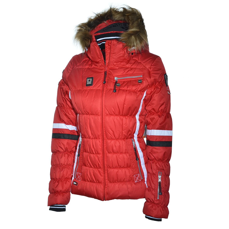 icepeak caia damen skijacke winterjacke jacke klassisch rot women ebay. Black Bedroom Furniture Sets. Home Design Ideas