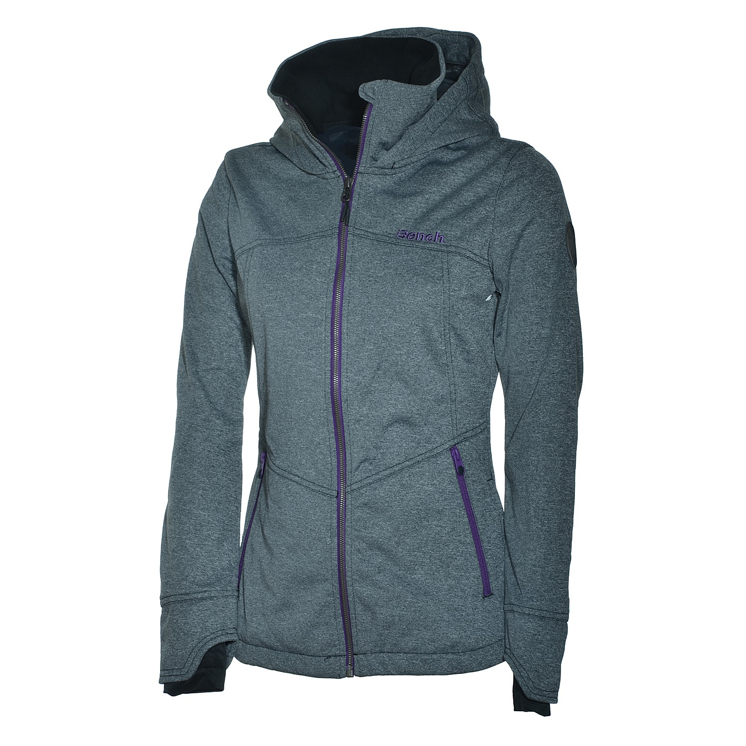 bench killer damen softshelljacke warme jacke grey jacke softshell ebay. Black Bedroom Furniture Sets. Home Design Ideas