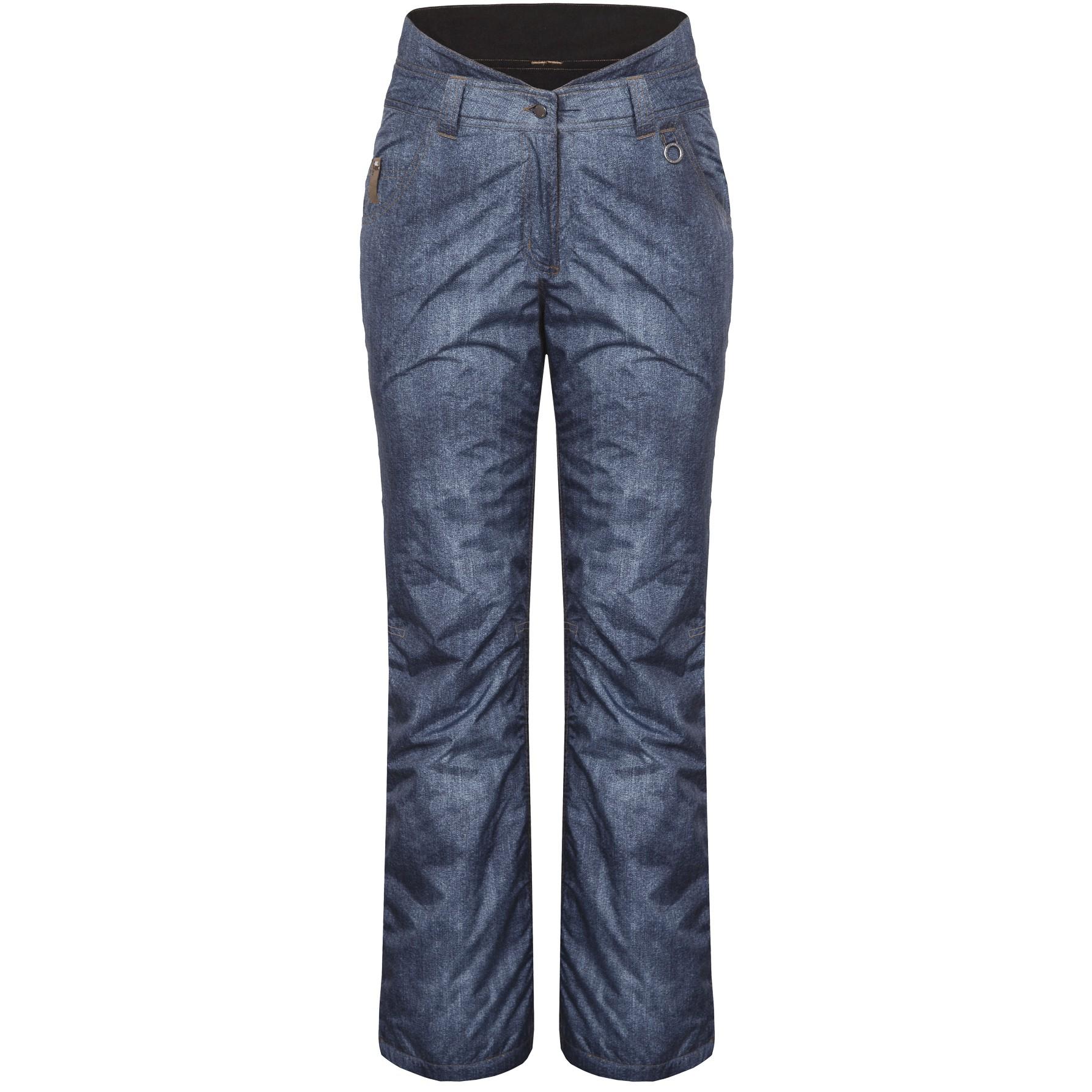 icepeak jody skihose hose damen ski jeansoptik blau ebay. Black Bedroom Furniture Sets. Home Design Ideas
