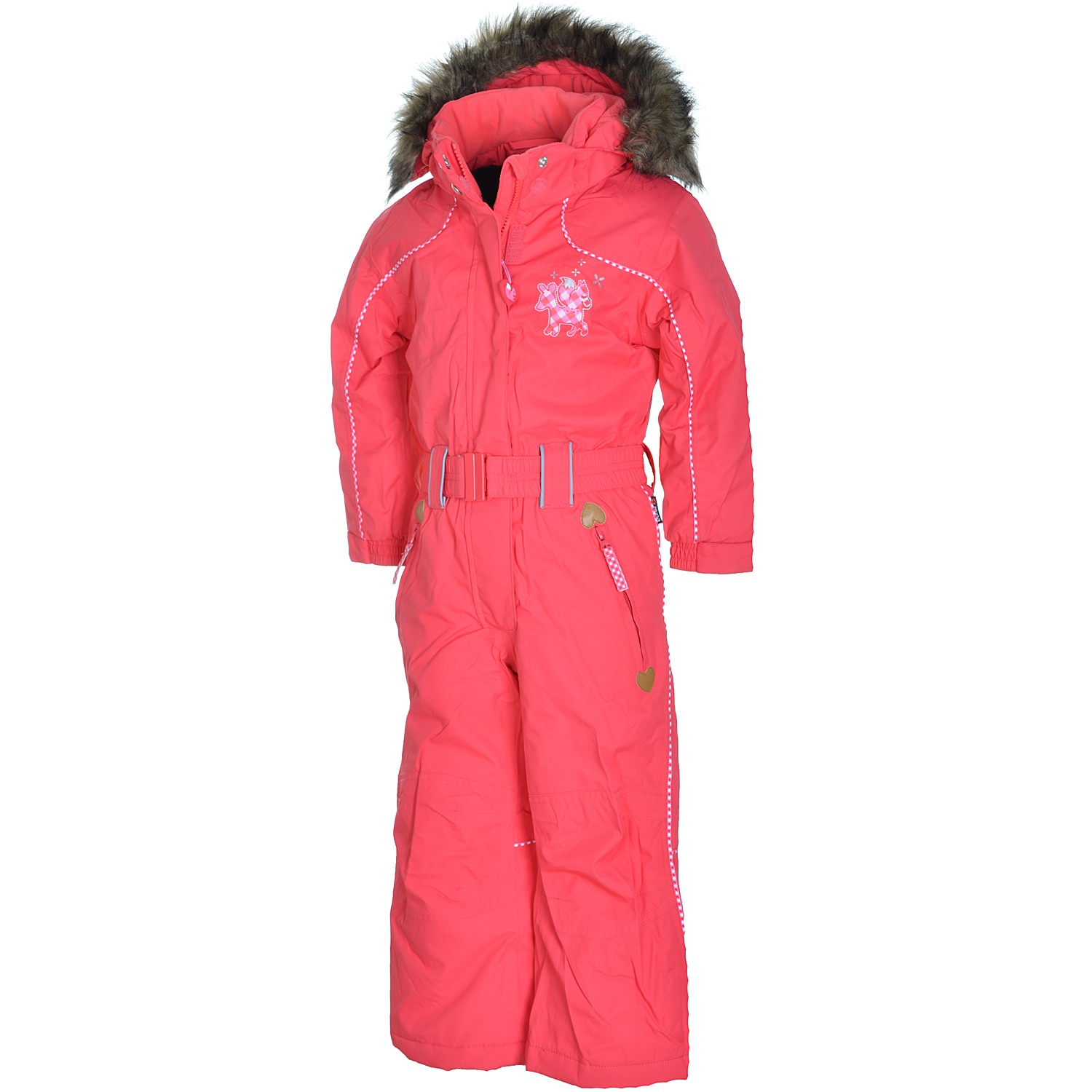 etirel moneypenny kinder winter schneeanzug kids pink overall ski ebay. Black Bedroom Furniture Sets. Home Design Ideas