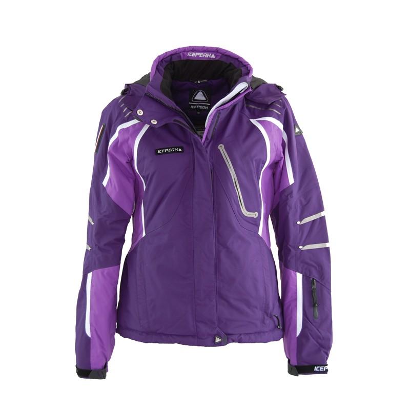 icepeak damen skijacke winterjacke jacke nanna violett ebay. Black Bedroom Furniture Sets. Home Design Ideas