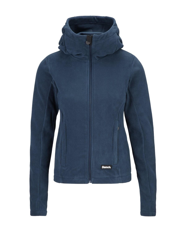 bench damen fleecejacke nordic ninja blau jacke ebay