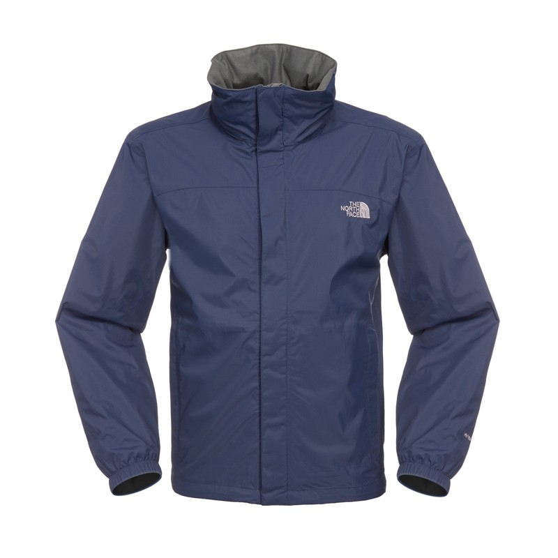 the north face herren sommerjacke resolve jacket cosmic blue regenjacke ebay. Black Bedroom Furniture Sets. Home Design Ideas