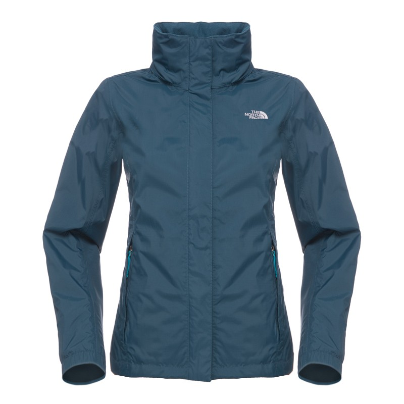 the north face sommerjacke resolve jacket women kodiak blue damen regenjacke ebay. Black Bedroom Furniture Sets. Home Design Ideas