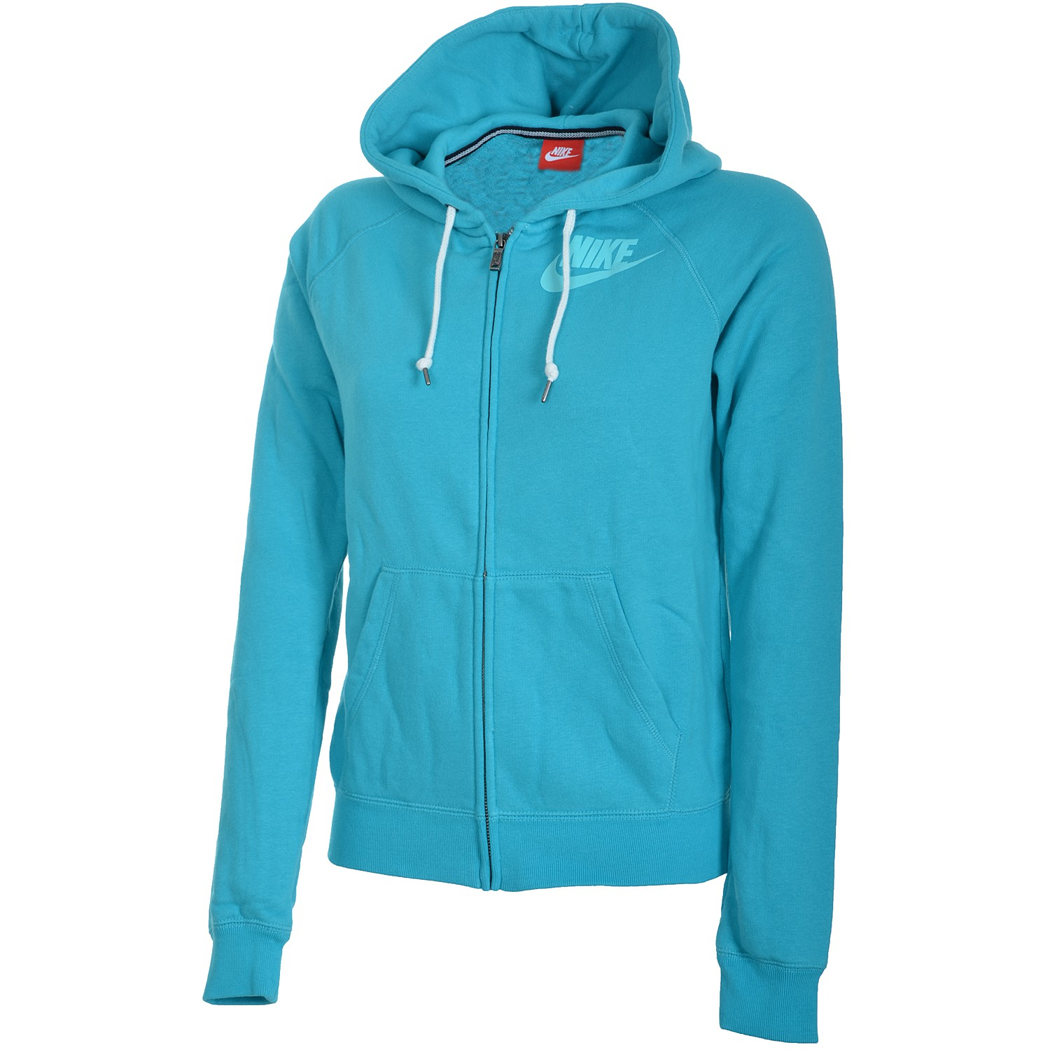 nike futura signal full zip damen hoodie sweatjacke gr n. Black Bedroom Furniture Sets. Home Design Ideas