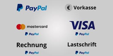 Unser Zahlungsarten